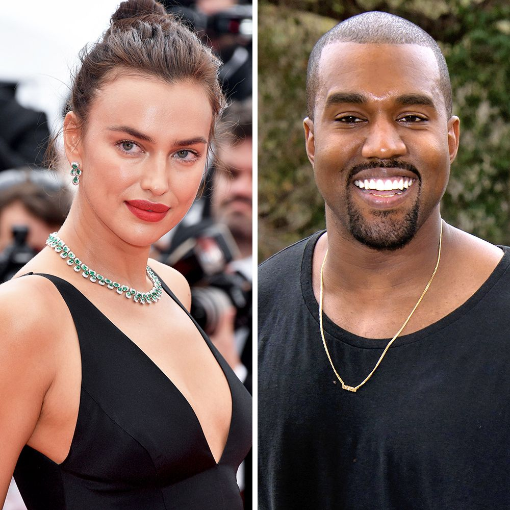 Kanye West And Irina Shayk Reportedly Dating Spotted In France
