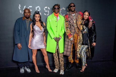 Versace Fall 2019 - Arrivals