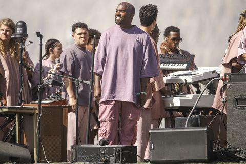 Kanye West's Sunday service at 2019 Coachella