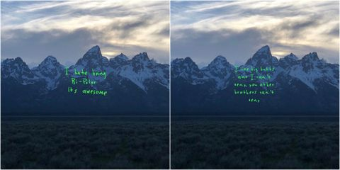 kanye west s album cover has immediately become a meme and we approve