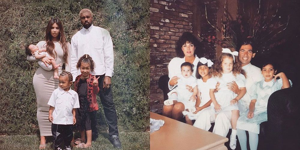The best kardashian jenner family photos of all time