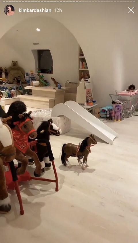 See Inside The Kardashian West Playroom Here S Where The Kids Of Kim Kardashian West Play