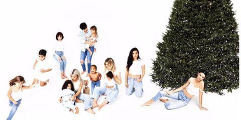 instagramkimkardashian the much awaited kardashian christmas - Kardashians Christmas Photos