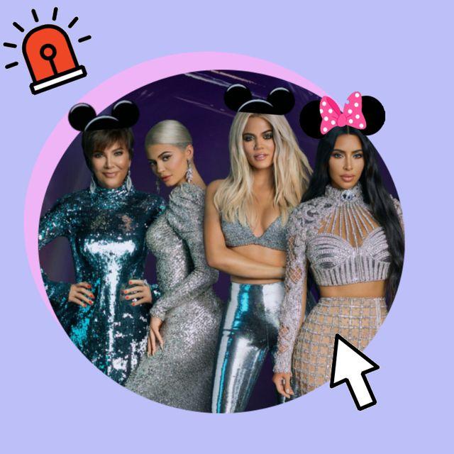 las kardashians, en un posado de su programa