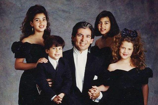 los kardashians en los 90