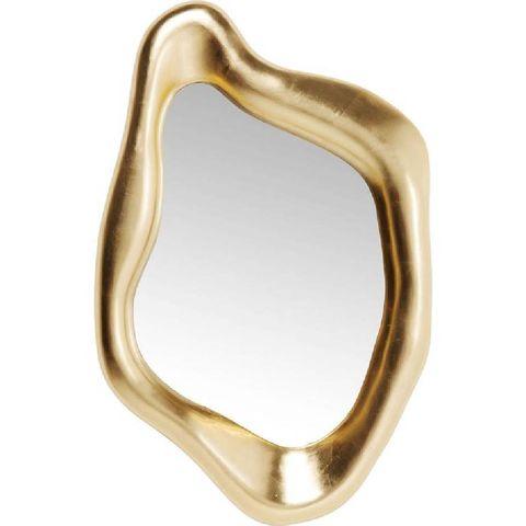 kare design spiegel hologram gold 119x76cm