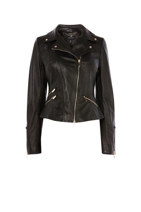 Karen Millen leather jackets