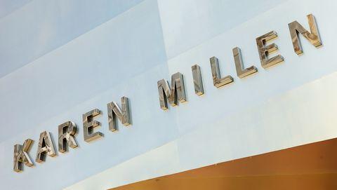 Karen Millen shop sign