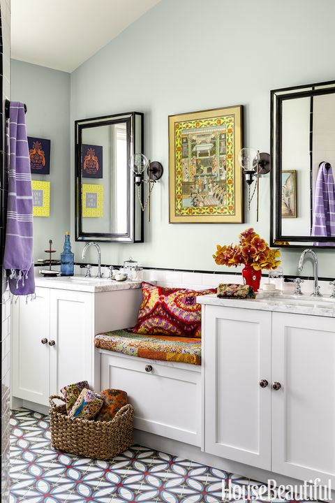 karen vidal boho bathroom