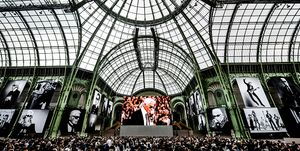 Karl For Ever in Grand Palais Parijs