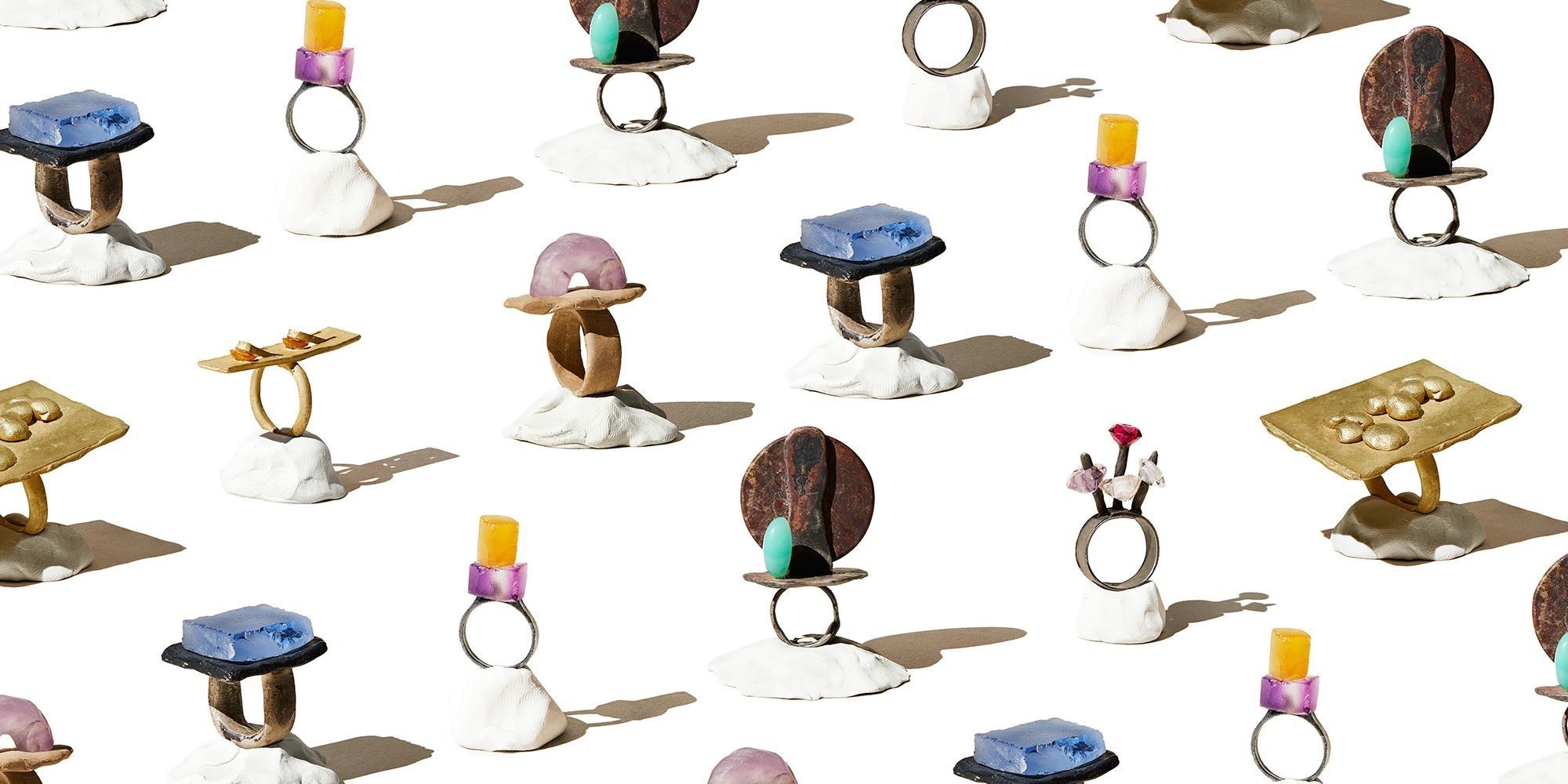 Karl Fritsch Makes Rings That Aspire to Sculpture