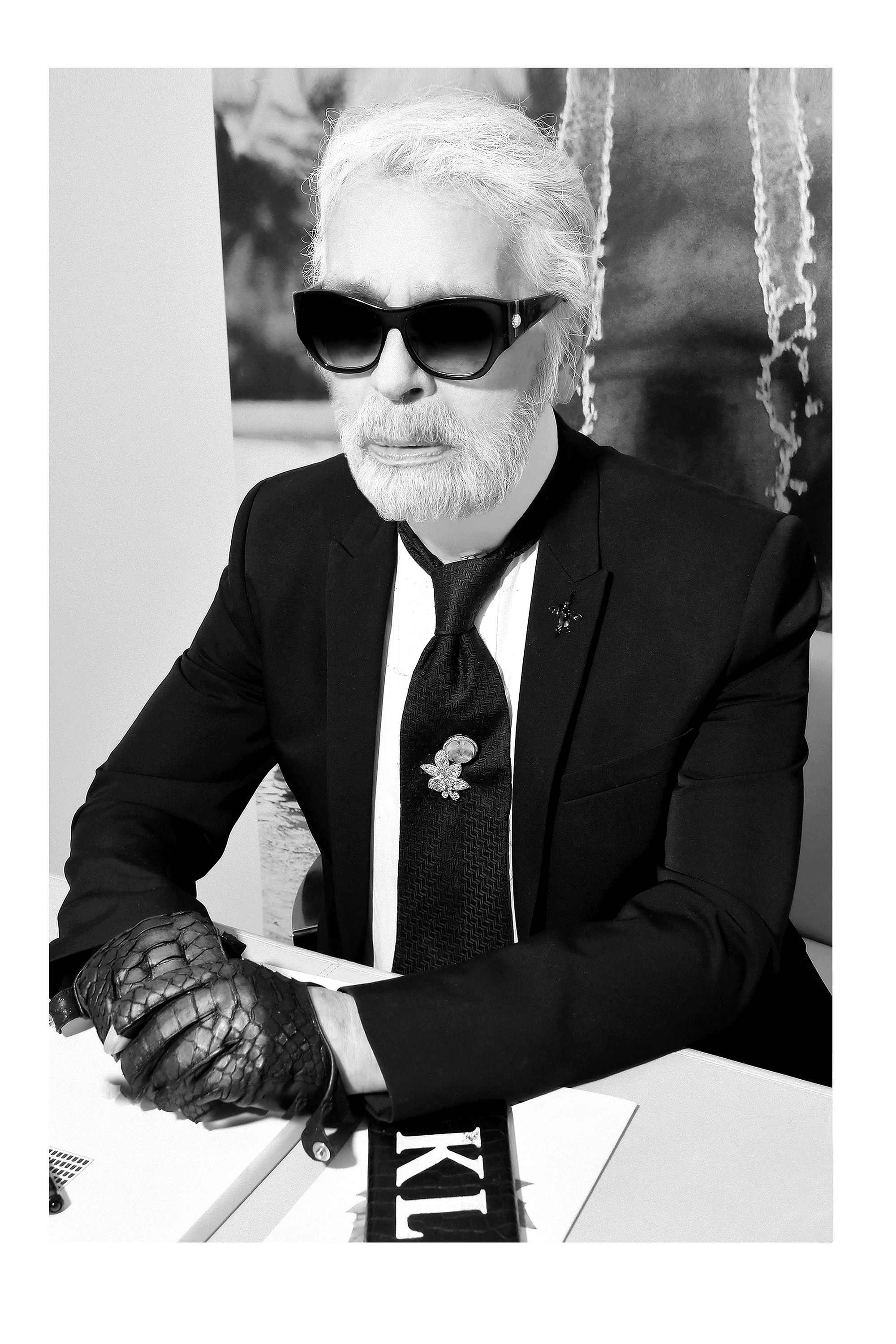 The house of Karl Lagerfeld pays tribute to late designer with celebrity collaborations