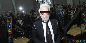 Karl Lagerfeld alla Paris Fashion Week 2018-2019