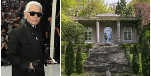 Karl Lagerfeld's former German villa