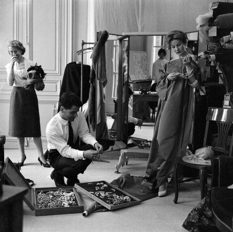 Karl Lagerfeld chez Jean Patou