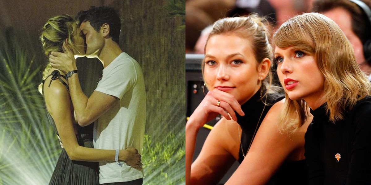 Karlie Kloss And Josh Kushner Post Kissing Instagram -7755