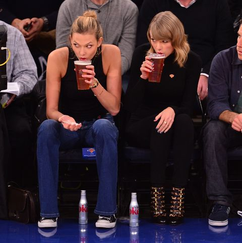 Celebrities Attend The Chicago Bulls Vs New York Knicks Game - October 29, 2014