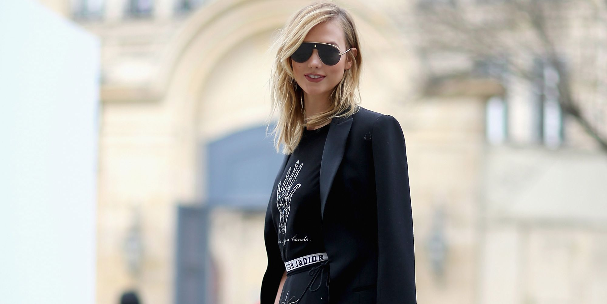 Karlie Kloss at the Dior show