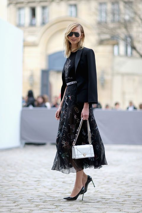 89eff600e7bf Karlie Kloss at the Dior show