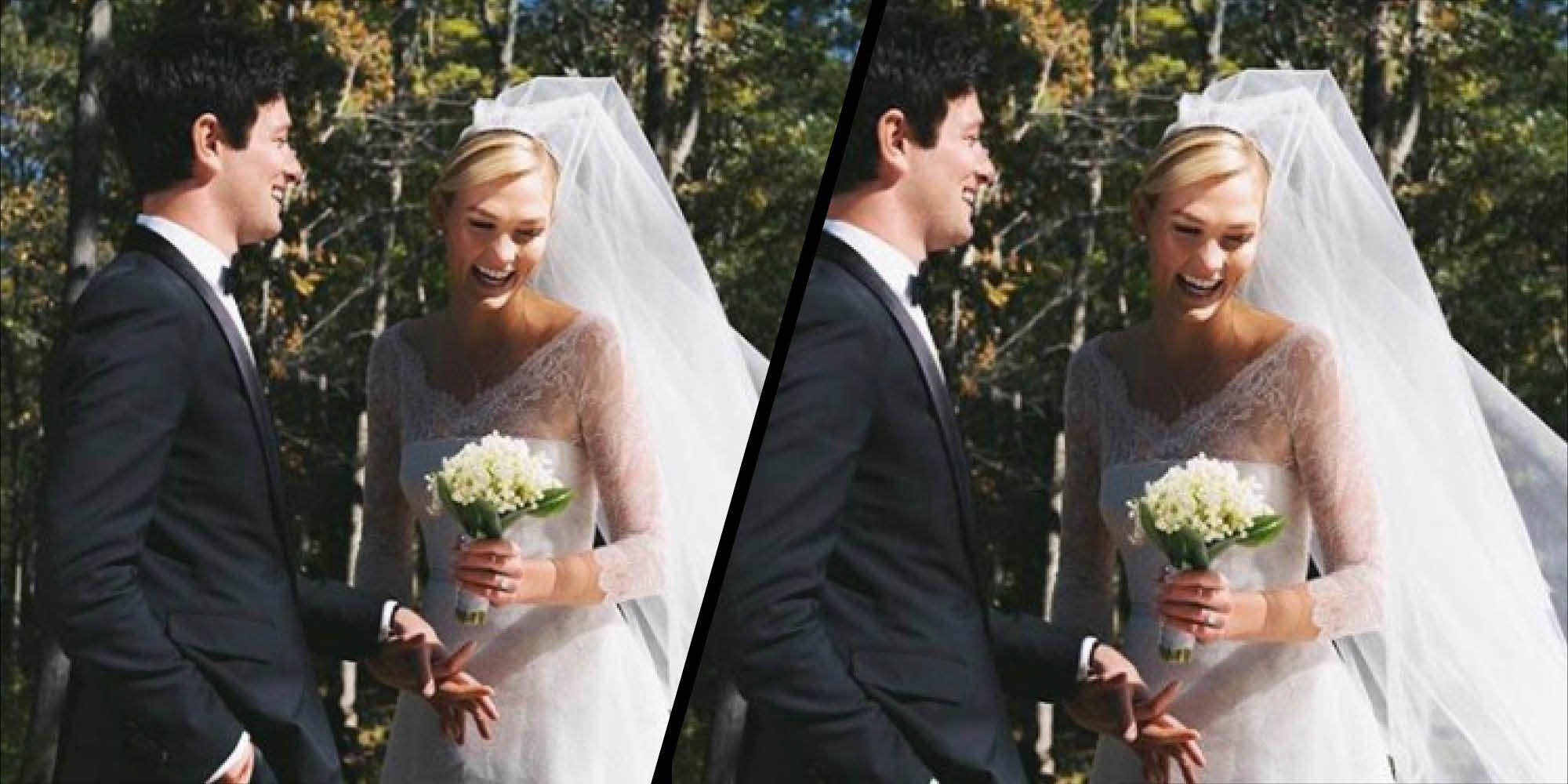 Karlie Kloss' wedding dress