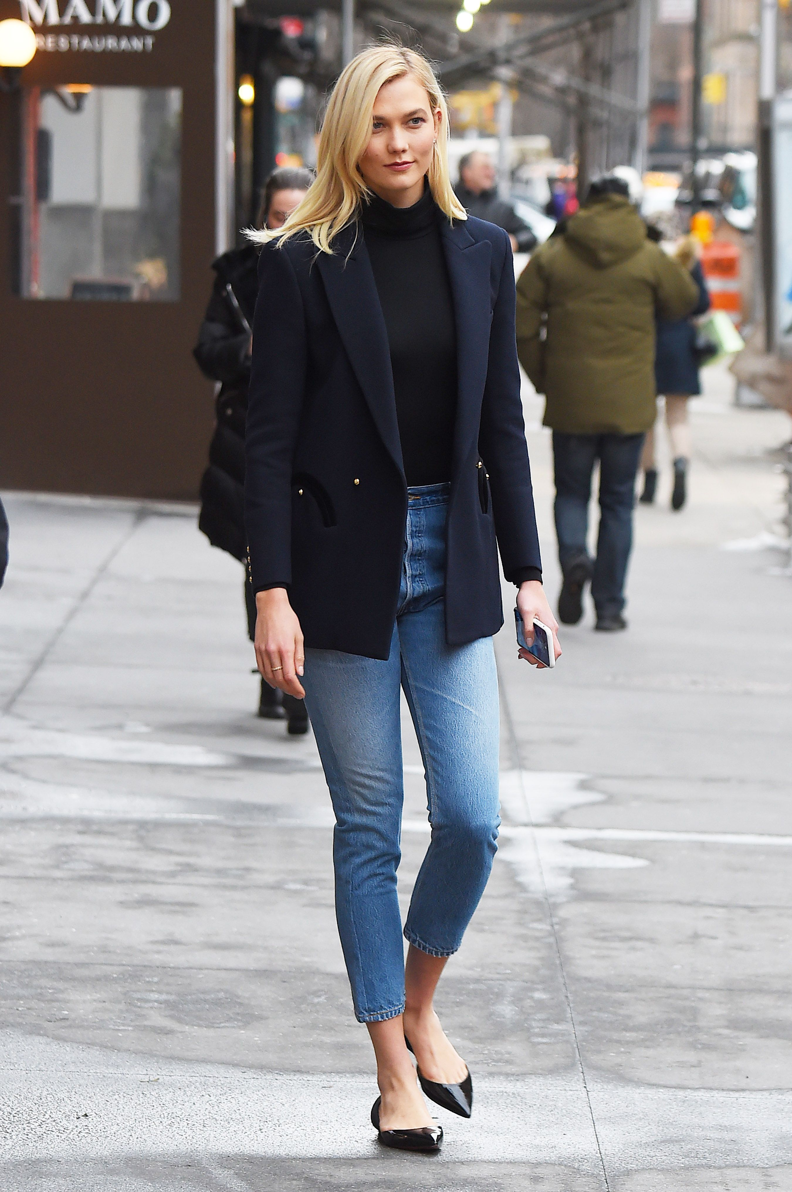 BuzzFoto Celebrity Sightings In New York - March 08, 2018