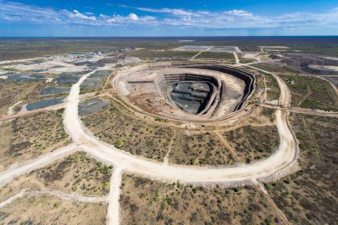 ルカラ・ダイヤモンドが所有するカロウェ鉱山