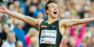 Karsten Warholm bate el récord de Europa de 400m. vallas