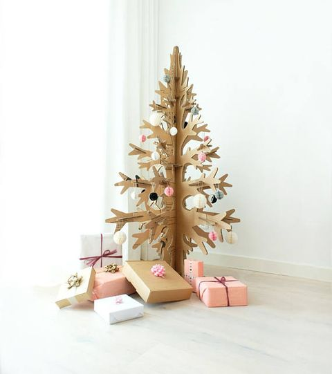 kartonnen kerstboom