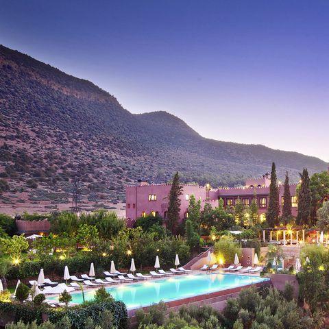 Best hotels in Marrakech: Kasbah Tamadot hotel review