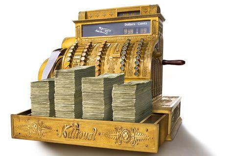 treasure, money, cash,