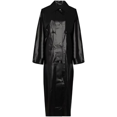 kassl editions canvas trenchcoat