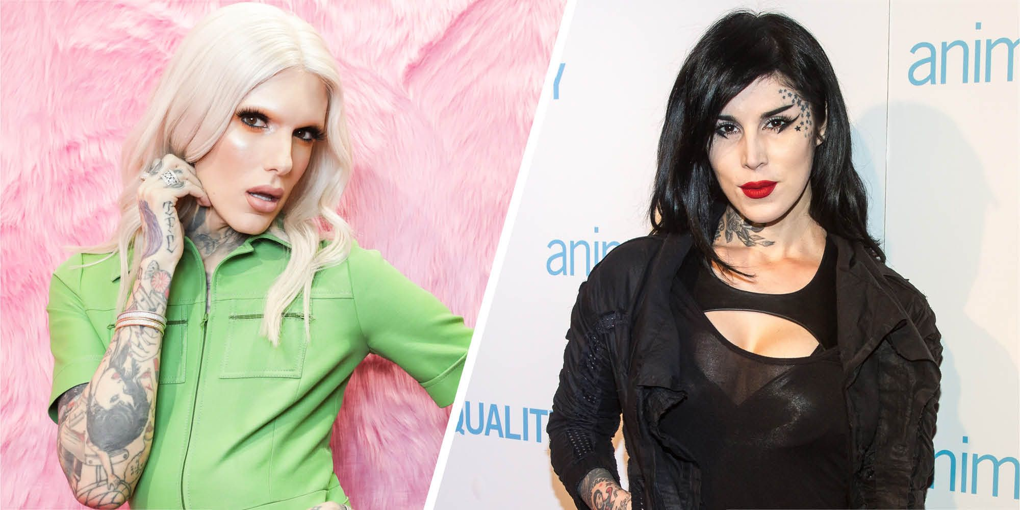 Jeffree Star just took to Twitter to drag Kat Von D again