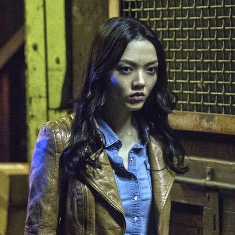 Rila Fukushima as Katana, Arrow season 3