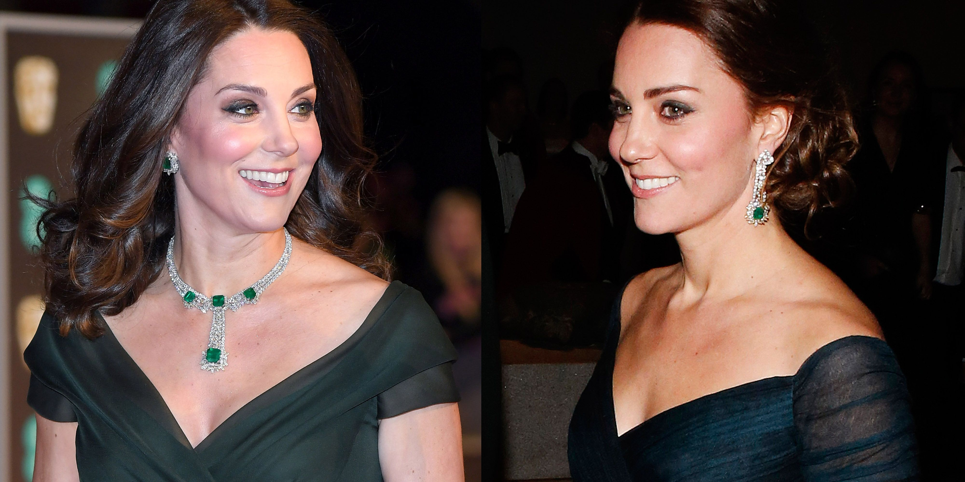 Kate Middleton Emerald Jewelry Duchess of Cambridge Redid Emerald