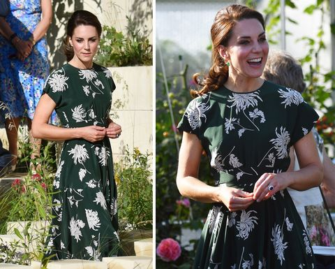 Kate Middleton at the Chelsea Flower Show
