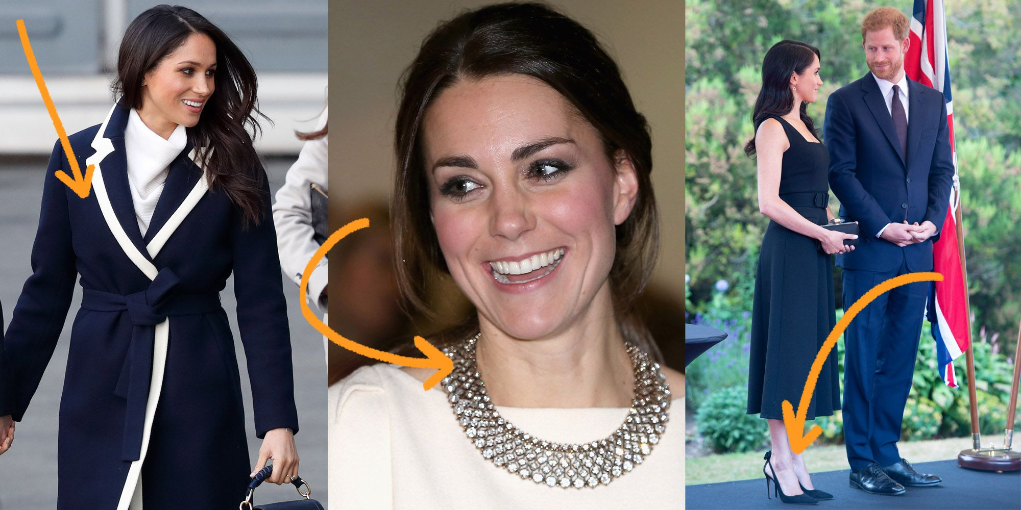 9a61c9f51d1 Fashion Brands that Meghan Markle and Kate Middleton Love — What Clothes Do  Meghan and Kate Wear