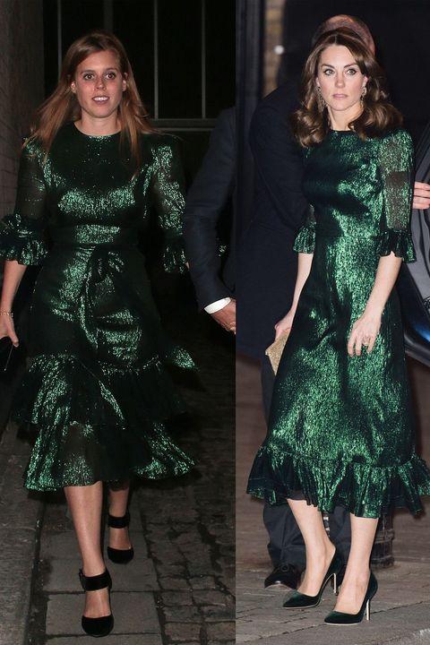 royals same dress
