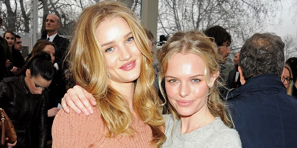 Watching Kate Bosworth and Rosie Huntington-Whiteley doing their make-up together is mesmerising