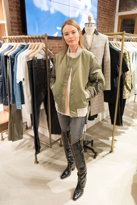 Clothing, Fashion, Riding boot, Outerwear, Footwear, Jeans, Jacket, Winter, Fashion design, Knee,