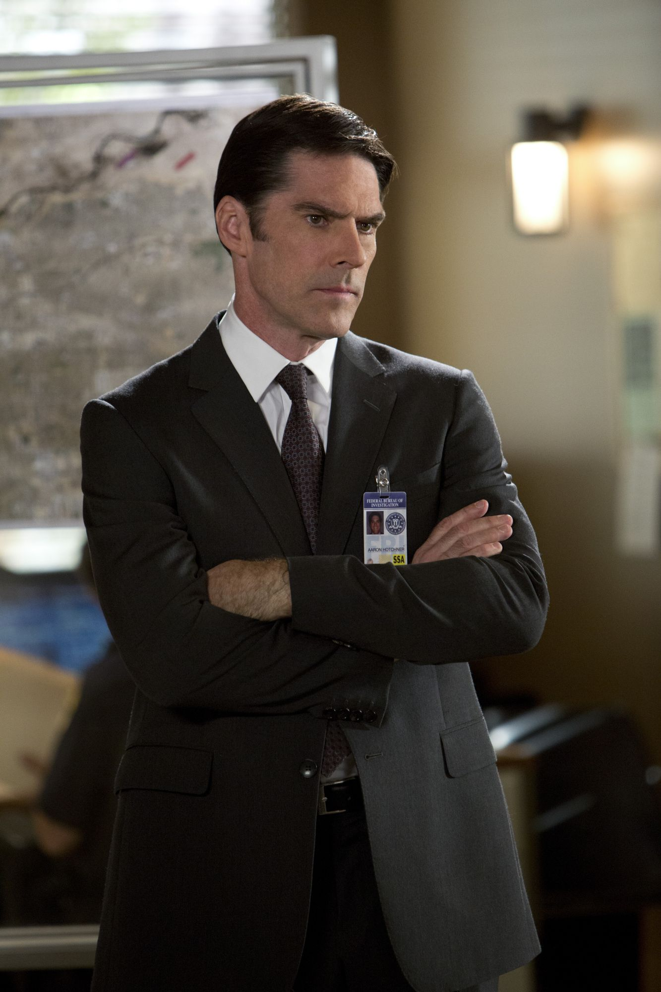 criminal minds cast aaron hotchner