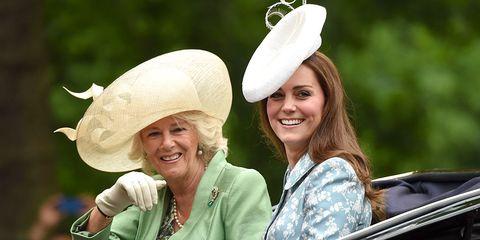 Kate Middleton Camilla Parker-Bowles