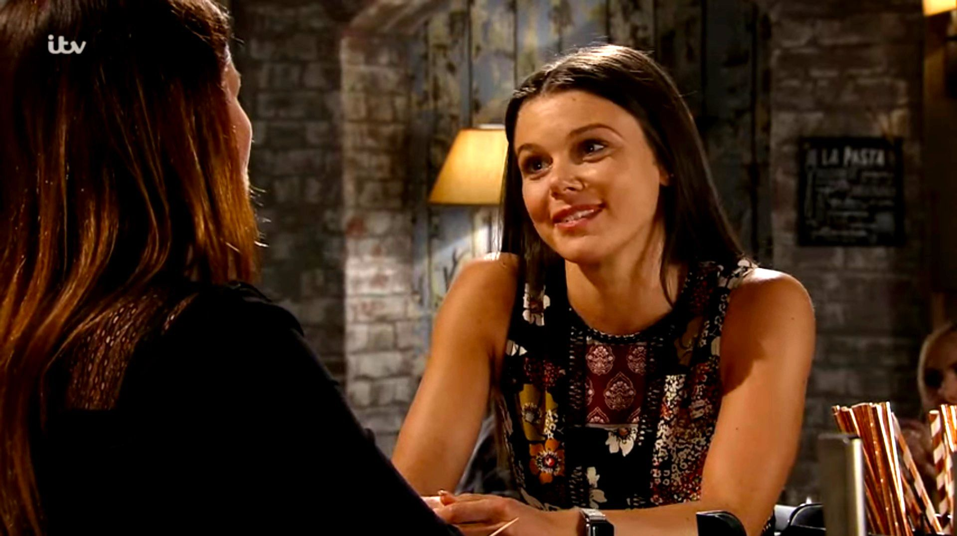 Coronation Street's Kate Connor confides in Carla as she makes plans to leave Weatherfield