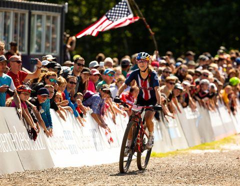 female cyclists   uci mountain bike world championships