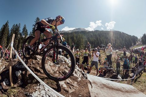 Kate Courtney Wins MTB World Championships in Switzerland
