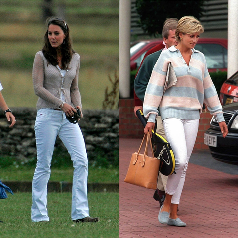 kate middleton and princess diana style times duchess of cambridge matched diana spencer kate middleton and princess diana style