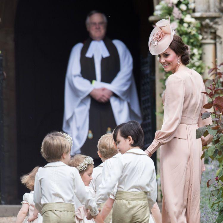 Kate Middleton at Pippa Middleton's wedding