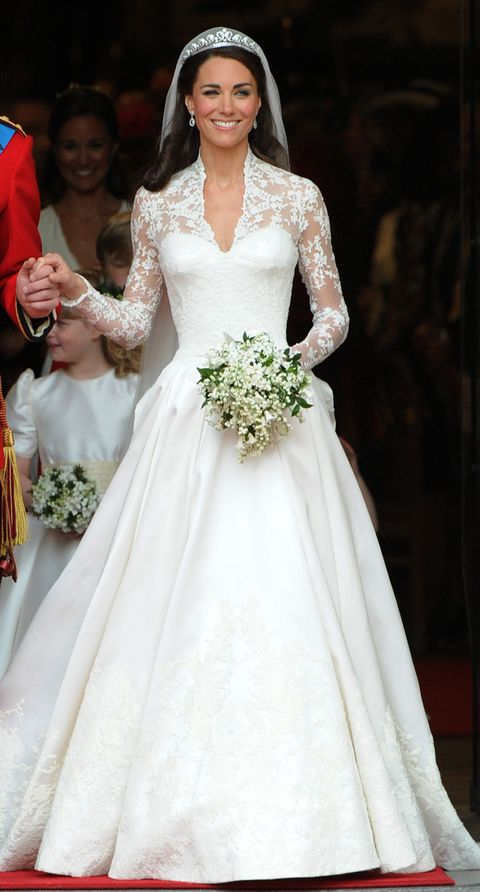 Princess Eugenie's Wedding Dress Compared to Meghan Markle, Kate