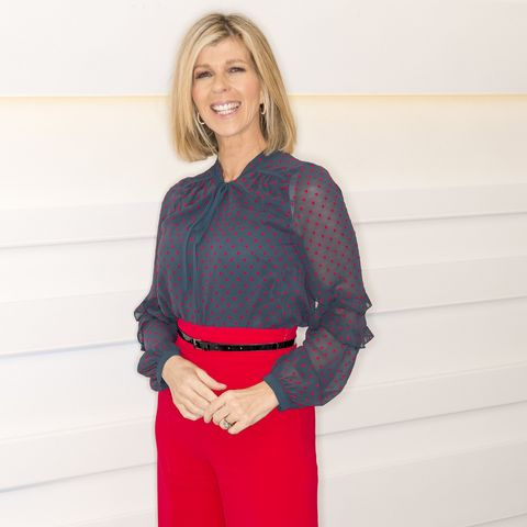 kate garraway wows in laura ashley blouse