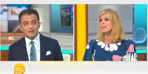Kate Garraway Talks Husband S Weight Loss Due To Covid 19