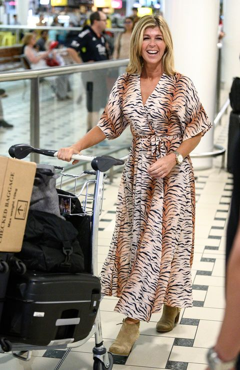 Kate Garraway, I'm a Celebrity arrivals Brisbane airport